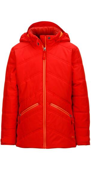 Marmot Girls Val D'Sere Jacket Scarlet Red